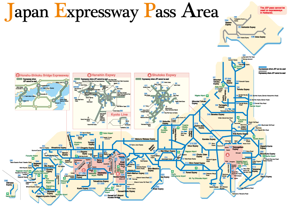 Central Nippon Expressway Pass